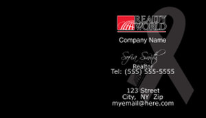 Realty World Business Cards Template: 528417