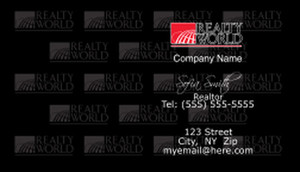 Realty World Business Cards Template: 528419