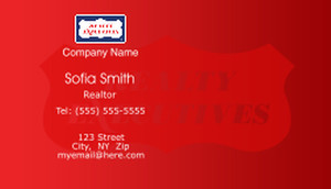 Realty Executive Business Cards Template: 503975