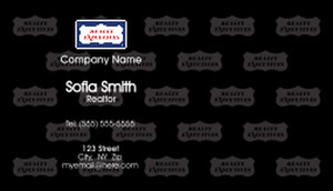 Realty Executive Business Card Template