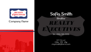 Realty Executive Business Card Design