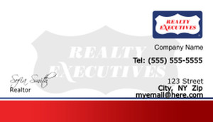 Realty Executive Business Cards Template: 503973