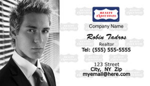 Realty Executive Business Cards Template: 503979