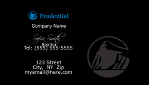 Prudential Business Cards Template: 499781