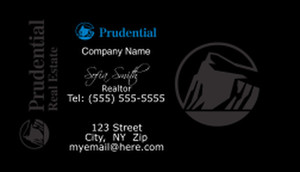 Prudential Business Cards Template: 499789