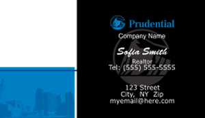Prudential Business Cards Template: 499885