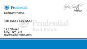 Prudential Business Cards Template: 499889