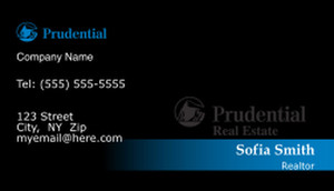 Prudential Business Cards Template: 499897
