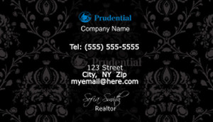 Prudential Business Cards Template: 503891