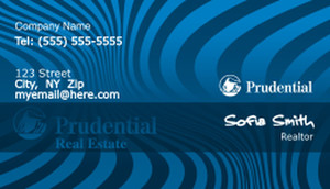 Prudential Business Card Template
