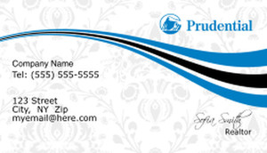 Prudential Business Cards Template: 499873