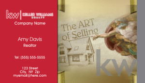 Keller Williams Business Cards Template