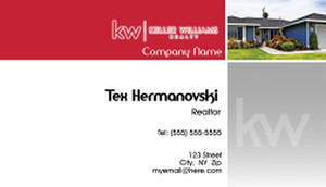 Keller Williams Business Cards Template: 575855