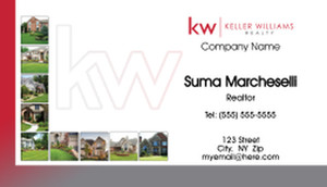 Keller Williams Business Cards Template: 575861