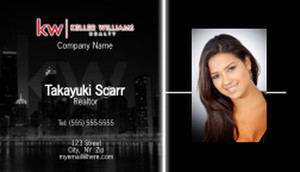 Keller Williams Business Cards Template: 575901