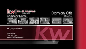 Keller Williams Business Cards Template: 575781