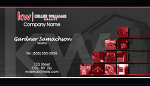 Keller Williams Business Cards Template: 575821