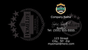 HomeLife Business Cards Template: 528487