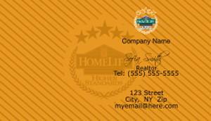 HomeLife Business Cards Template: 528501