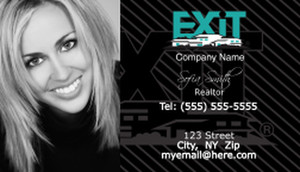 Exit Business Cards Template: 502241
