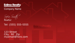 Edina Business Cards Template: 502617