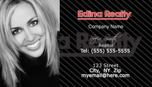Edina Business Cards Template: 502515
