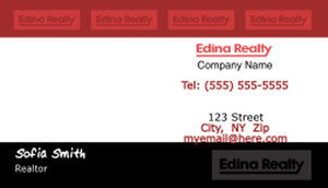 Edina Business Cards Template: 502567