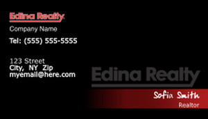 Edina Business Cards Template: 502577