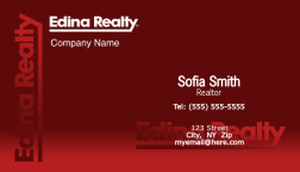 Edina Business Cards Template: 502589