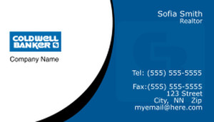 Coldwell Banker Business Cards Template: 367840