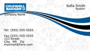 Coldwell Banker Business Cards Template: 367845