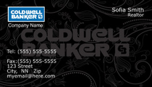 Coldwell Banker Business Cards Template: 367975