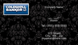 Coldwell Banker Business Cards Template: 480501