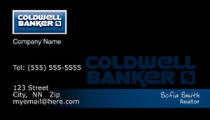 Coldwell Banker Business Cards Template: 480483