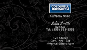 Coldwell Banker Business Cards Template: 480491