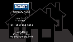 Coldwell Banker Business Cards Template: 480507