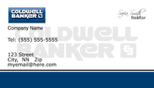 Coldwell Banker Business Cards Template: 481981