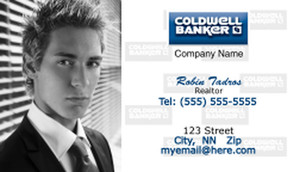 Coldwell Banker Business Cards Template: 481985