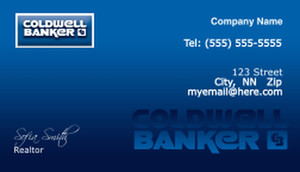 Coldwell Banker Business Cards Template: 488997