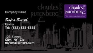 Charles Rutenberg Business Cards Template: 500685