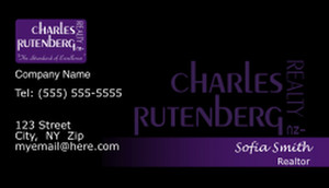Charles Rutenberg Business Cards Template: 500781