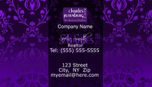 Charles Rutenberg Business Cards Template