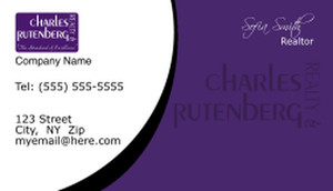 Button to customize design Charles Rutenberg Business Cards Template: 500765