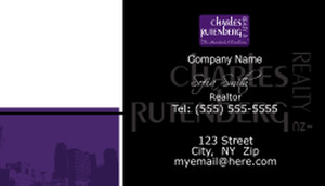 Charles Rutenberg Business Cards Template: 500769