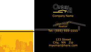 Century 21 Business Cards Template: 480403