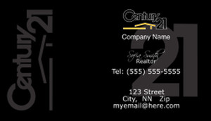 Century 21 Business Cards Template: 480419
