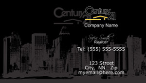 Century 21 Business Cards Template: 480425
