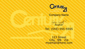 Century 21 Business Cards Template: 480435