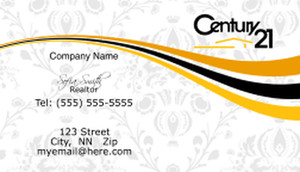 Century 21 Business Cards Template: 482063