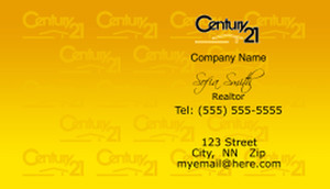 Century 21 Business Cards Template: 488945